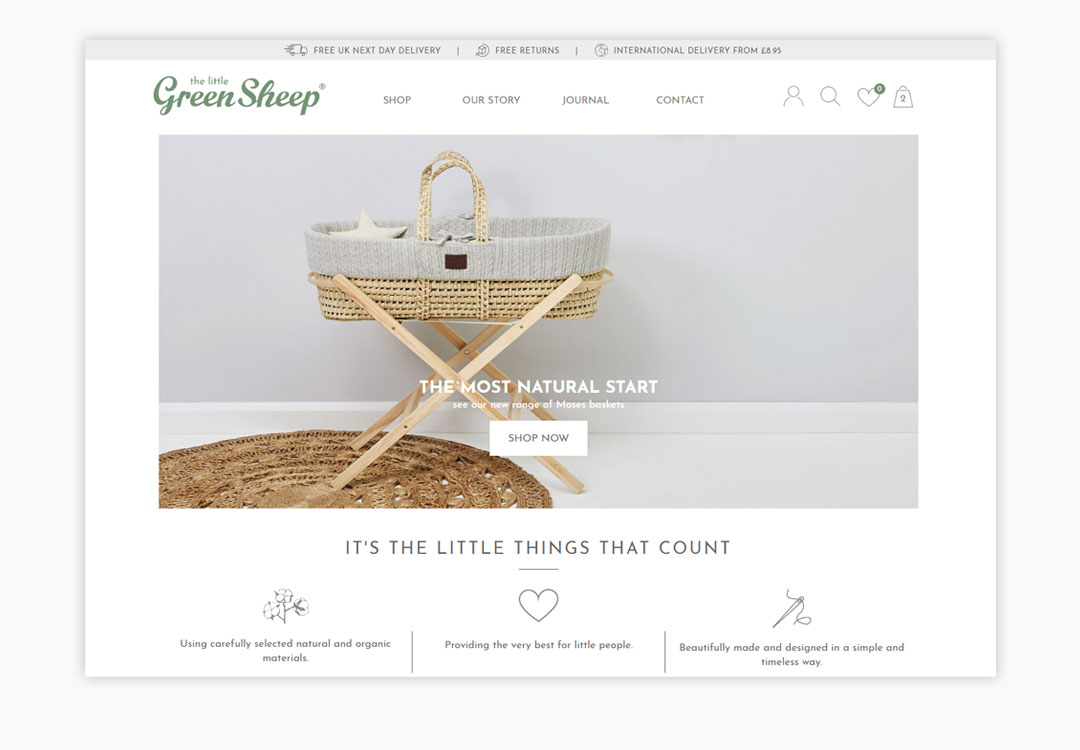 The Little Green Sheep Homepage